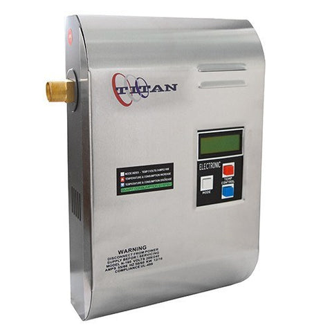 titan n160 whole house tankless water heater 16kw – tank the tank