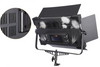 P-1380 PRO EDGE LIGHT LED PANEL BI-COLOR DIMMABLE WITH V-MOUNT BATTERY PLATE & LCD 3200-5600k FOR STUDIO AND VIDEO