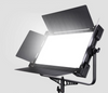 P-1380 TWO HEAD KIT PRO EDGE LIGHT LED PANEL BI-COLOR DIMMABLE WITH V-MOUNT BATTERY PLATE & LCD 3200-5600k FOR STUDIO AND VIDEO
