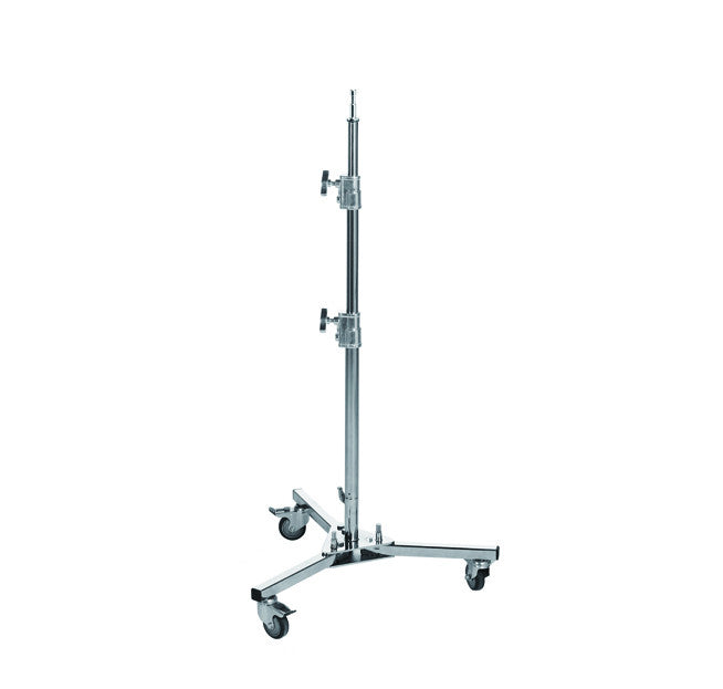 Roller Light Stand For Photography and Video Lighting Support With Wheels