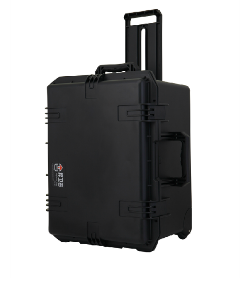 Defensor X530D Case Black with Divider, Retractable Handle & Wheels