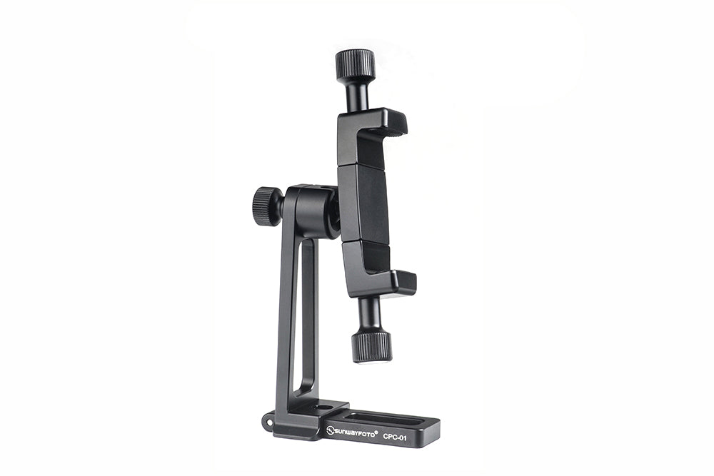SunwayFoto CPC-01 Cell Phone Bracket Holder Arca / RRS Compatible 56mm to 92mm