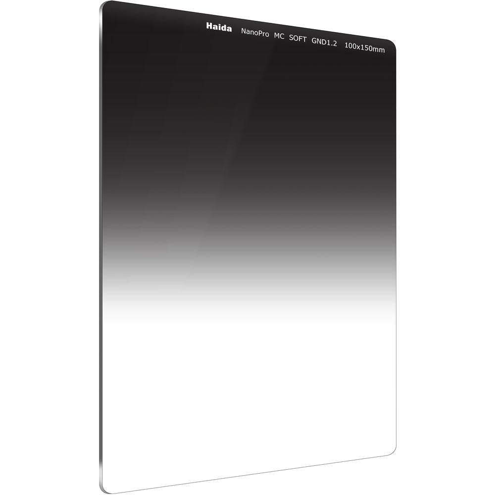 Haida Nanopro Soft Graduated ND0.9 (3 Stop) Multicoated Optical Glass Filter 100x150mm