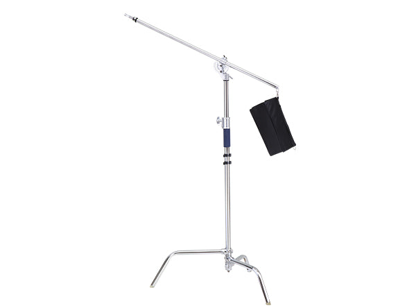 Jinbei K-4 C 2-in-1 Multi-Use Studio Photo Video Century Stand C-Stand Grip Head, Arm Kit