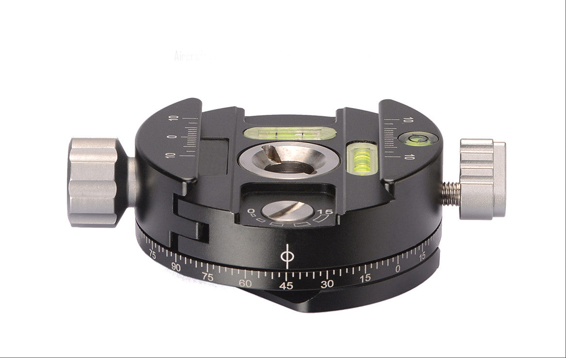 Panoramic Panning Clamp Camera Fr Tripod Head W Arca-Swiss Plate PAN-02