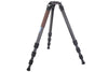 "Leofoto LN-404C Carbon Fiber Professional Tripod With 3/8"" Stud Mount Flat Plate & 100mm Bowl adapter"