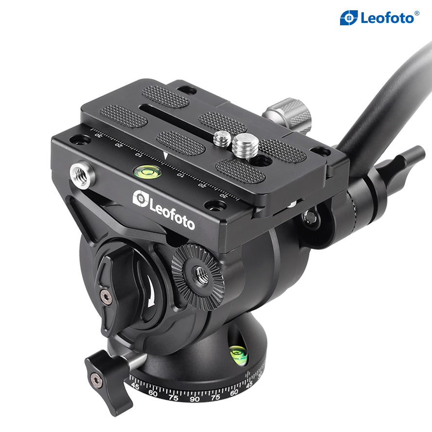 Leofoto BV-10 Professional Fluid Video Head Arca-Swiss compatible