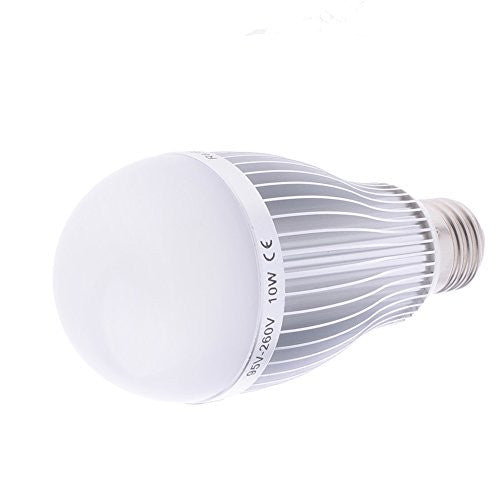 LED Light Bulb 5600K 10W E27 Standard Base Daylight For Photography and Video
