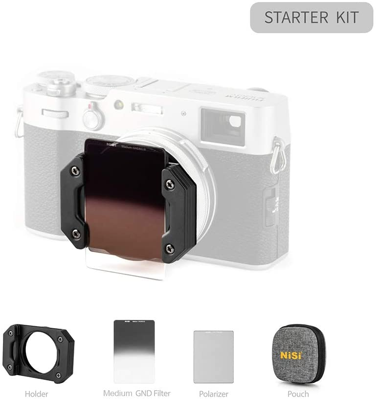 Copy of NiSi Filter System for Fujifilm X100/X100S/X100F/X100T/X100V (Starter Kit)