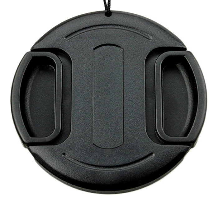 58mm Center-Pinch Snap-On Front Lens Cap