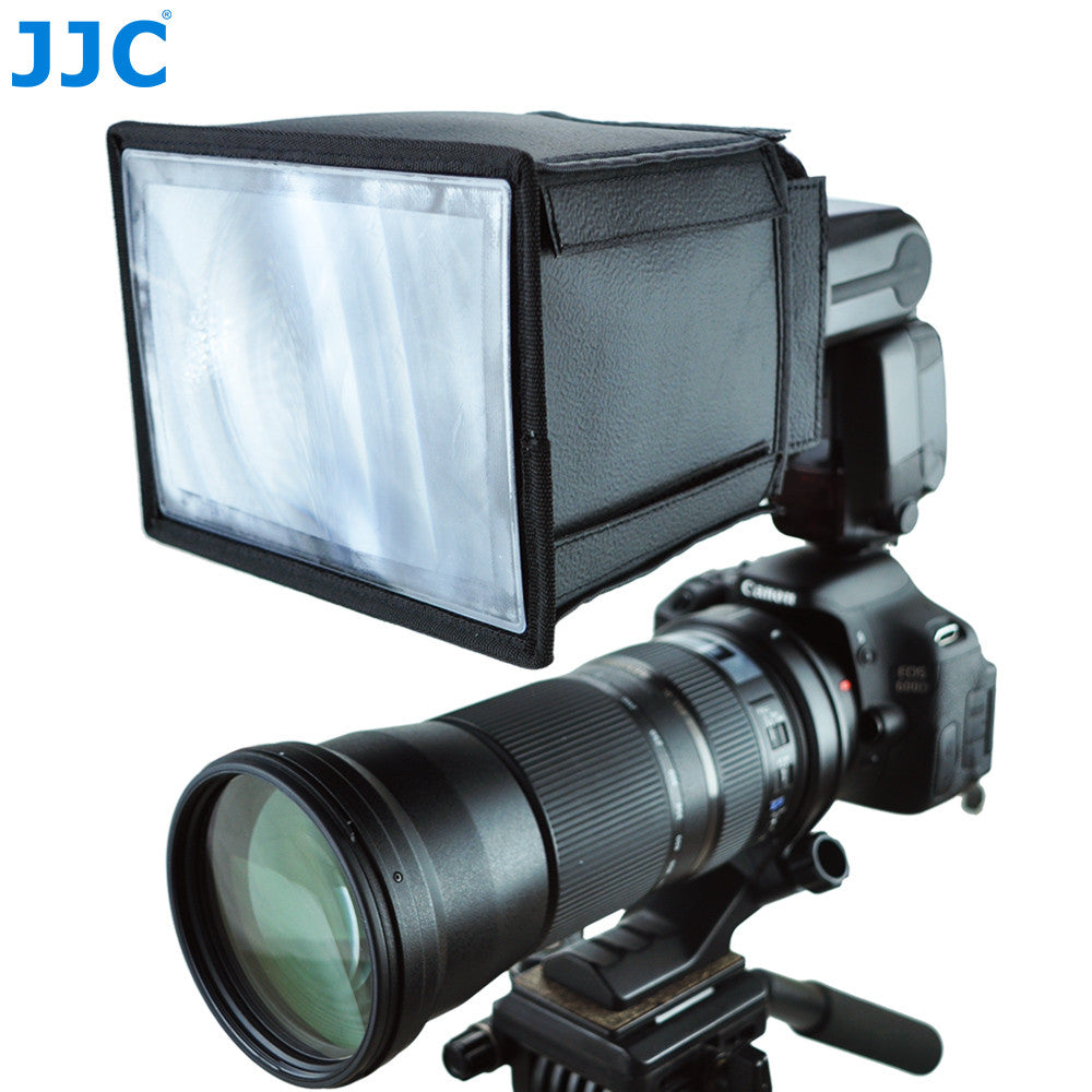 JJC FX-C600 Flash Multiplier Extender  For CANON Speedlite 600EX-RT Telephoto Lens For Birding Photography