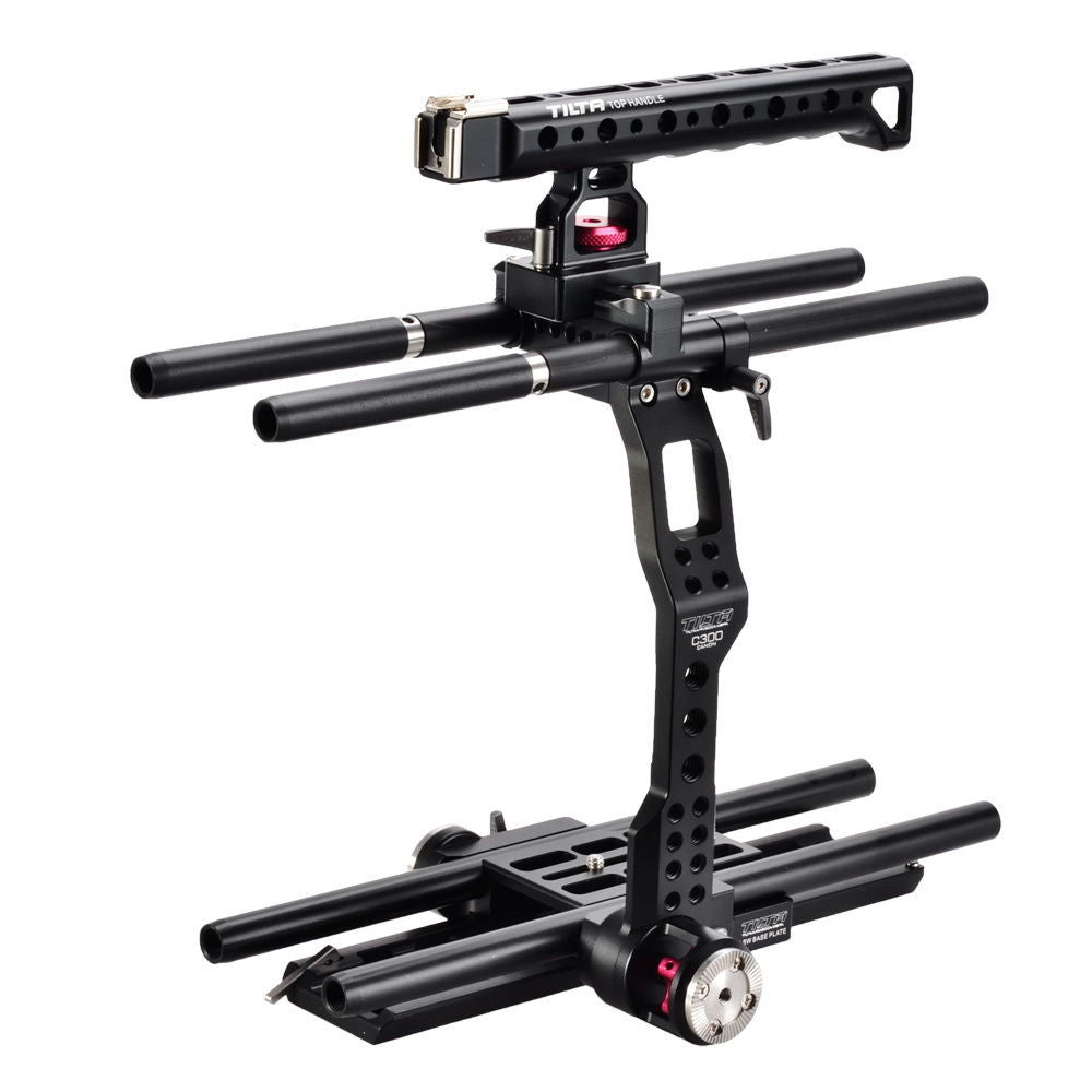 Tilta 15mm Camera Shoulder Rig Cage Rail Support Canon C300 C500