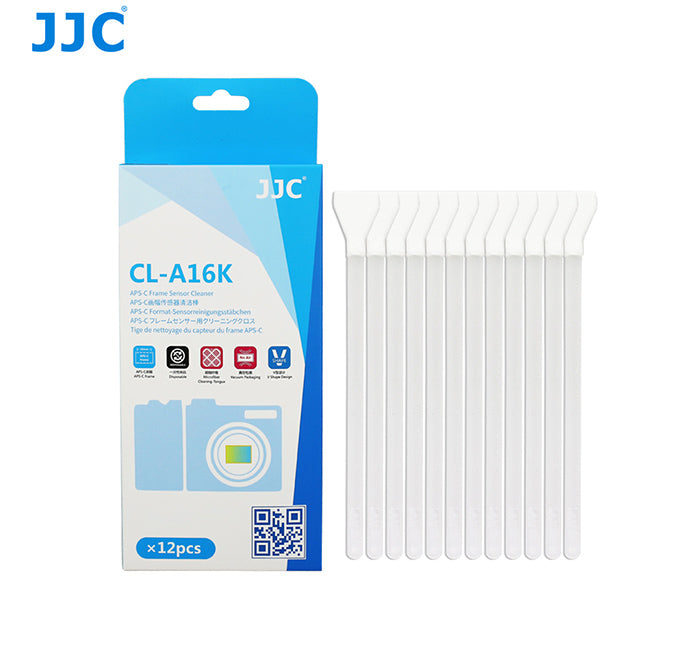 JJC CL-A16K 12XKIT SENSOR CLEANER for APS-C FRAME DSLR CCD, CMOS Cameras