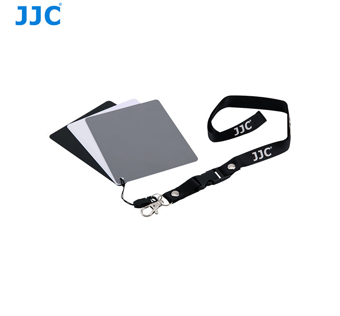 JJC GC-3 3in1 3 Color Digital Grey White Balance Card Set 100mm x 130mm