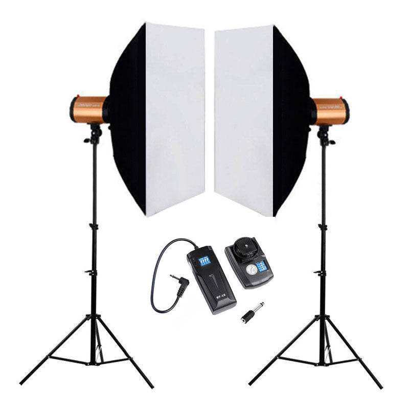 Godox Smart Series 250SDI KIT 110v US with softbox stand Trigger
