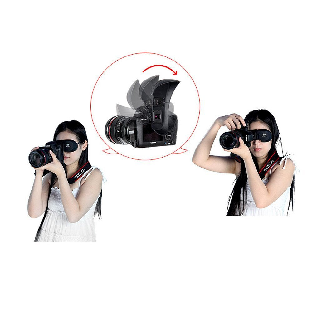 Binocular-Fixation Shade,Soft Eyecup for Canon 5DMarkIII,7D,6D,70,60D CN-2CL