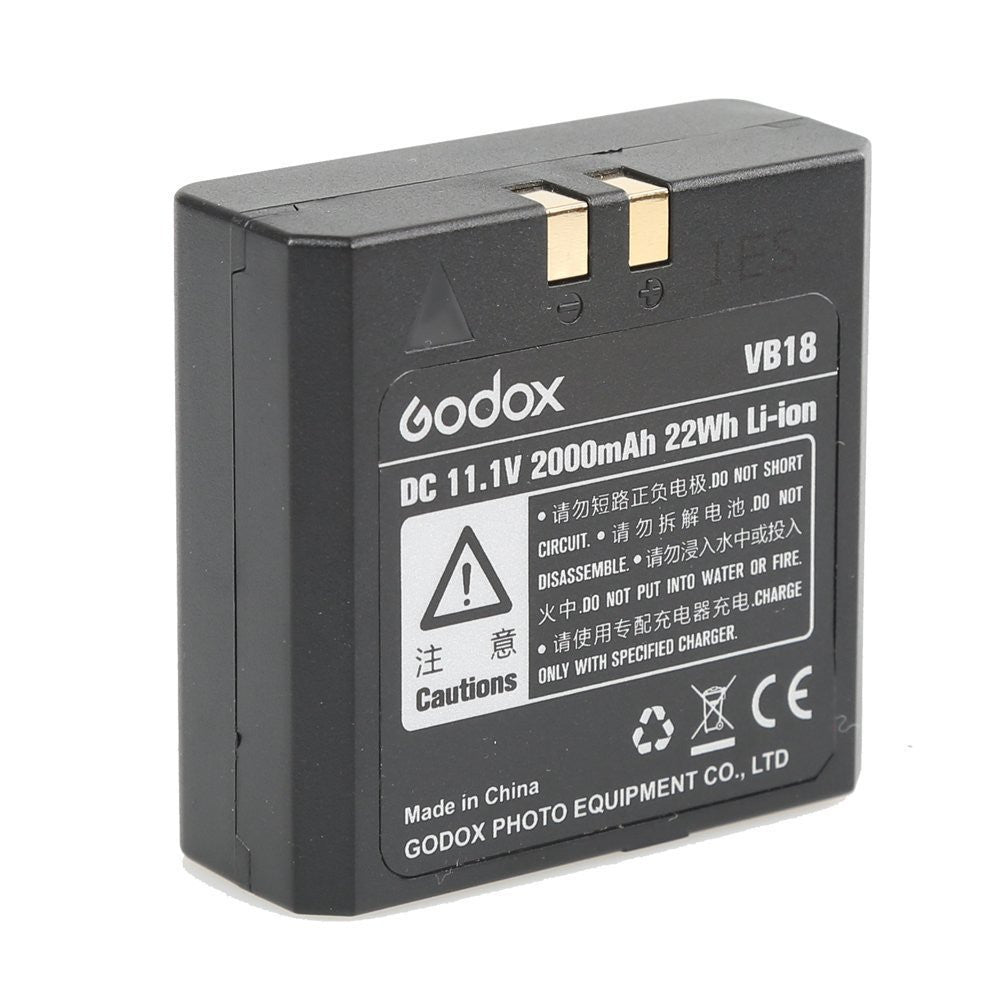 Godox VB18 Li-ion Rechargeable Battery for Ving V850 V860 V860II Flash