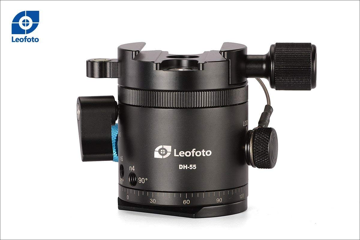 LEOFOTO DH-55 360° Panoramic Indexing Rotator Arca Compatible Clamp