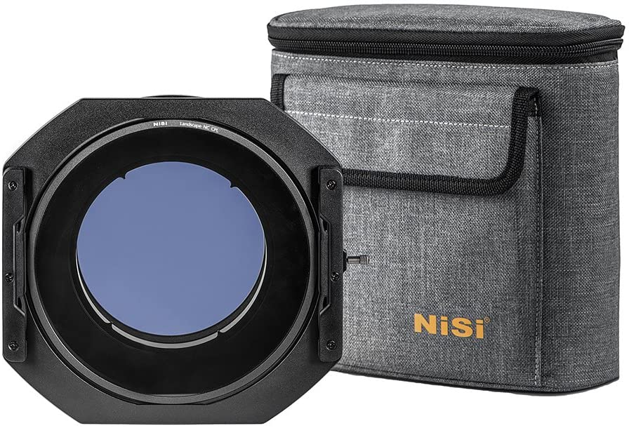 NiSi S5 Kit 150mm Filter Holder with NC Landscape CPL for Sigma 14-24mm f/2.8 DG DN Sony E Mount and L Mount