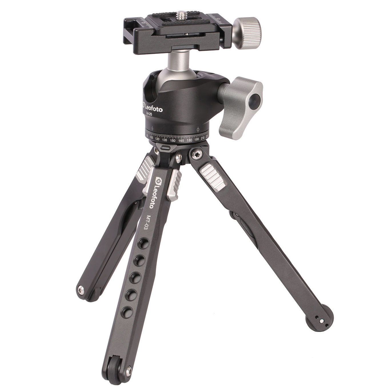 Leofoto MT-03 + LH25 Spider Mini Table Top Pocket Tripod Tripod and Ballhead Kit