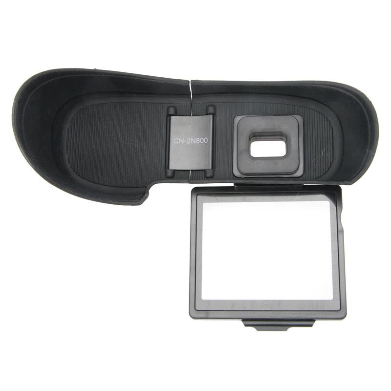 Binocular-Fixation Shade,Soft Eyecup for Nikon D800,D810 CN-2N800