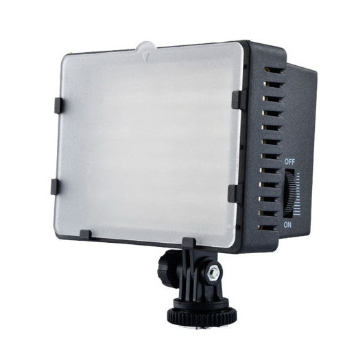 LED DV Camcorder Video Hot Shoe Lamp Light CN-160 With LP-E6 Battery Plate For Canon 5DIII 5DII 6D 60D 70D 7D