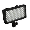 PRO 240 LED BI-COLOR DSLR DV Hot Shoe Lamp Light CN-240CH 3200K-5400K W/ LP-E6 Addapter & Barn Door