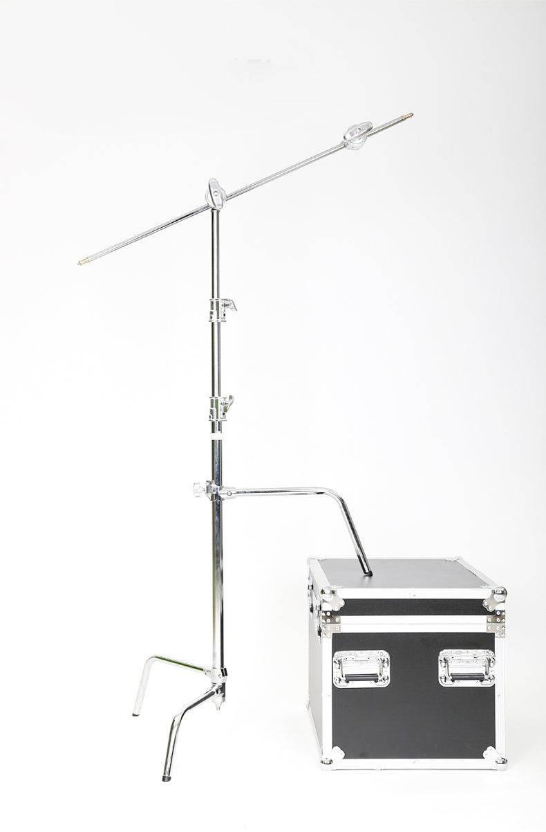 Studio Photo Video Century Stand C-Stand Grip Head, Arm Kit with Adjustable Sliding Leg