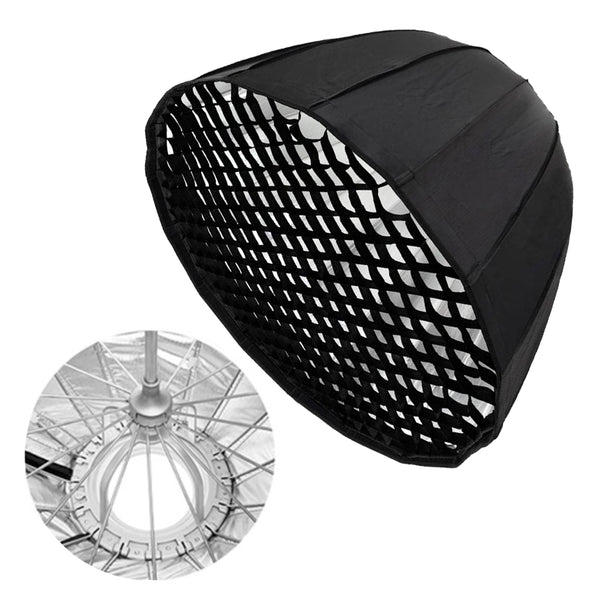 "60""/150CM 16K Deep Parabolic Softbox with Grids"