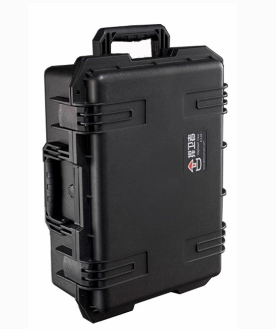 Defensor X300 Case Black w/ Foam Retractable Handle & Wheels
