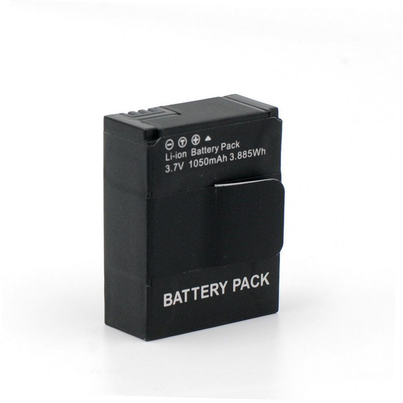 High Capacity 1050mAh Rechargeable Li-ion Replacement Battery for GoPro Hero 3 3+