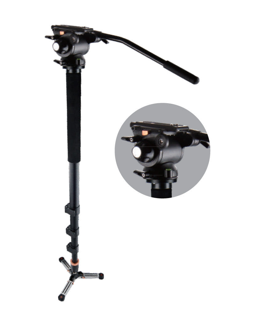 E-image MA70 Fluid Video Monopod With Pan Head