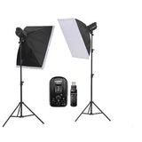 Jinbei Spark II-400 Studio Flash Kit with Softbox and Wireless Trigger