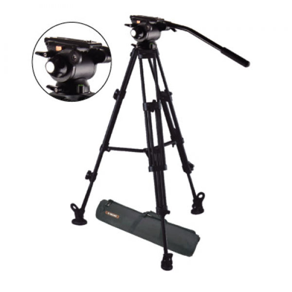 E-Image EG03AA Video Tripod and Head Kit E-Image