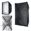 "24""X 36"" Easy Setup Carry Foldable EZ Softbox Fr Elinchrom With Grid"
