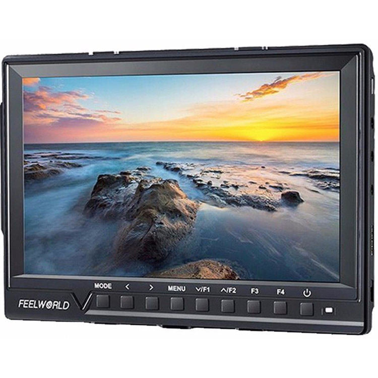 "FeelWorld FW760 7"" IPS Ultra-Thin Full HD 1920x1200 Camera-Top Monitor with Peaking Focus Assist, Histogram, and Zebra Functions"
