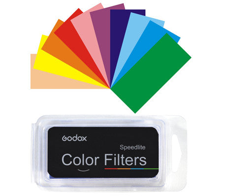 Godox CF-07 Flash Color Filter Gels (7 Colors)
