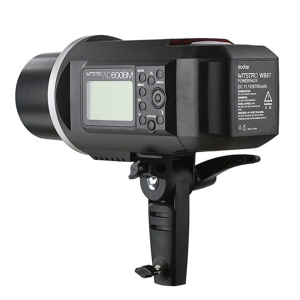 Godox AD600BM HSS High Speed Sync Studio Strobe Flash GN87 With Battery and 2.4GHZ Wireless X System