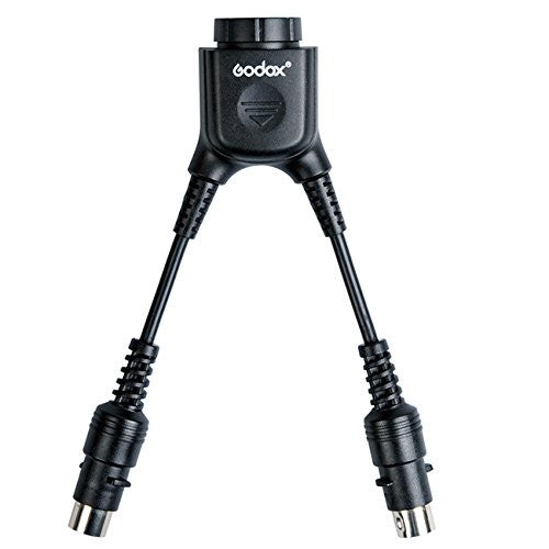 Godox DB-02 Cable Y Adapter 2 to 1 for PROPAC Power Pack PB960 Flash AD360 AD180