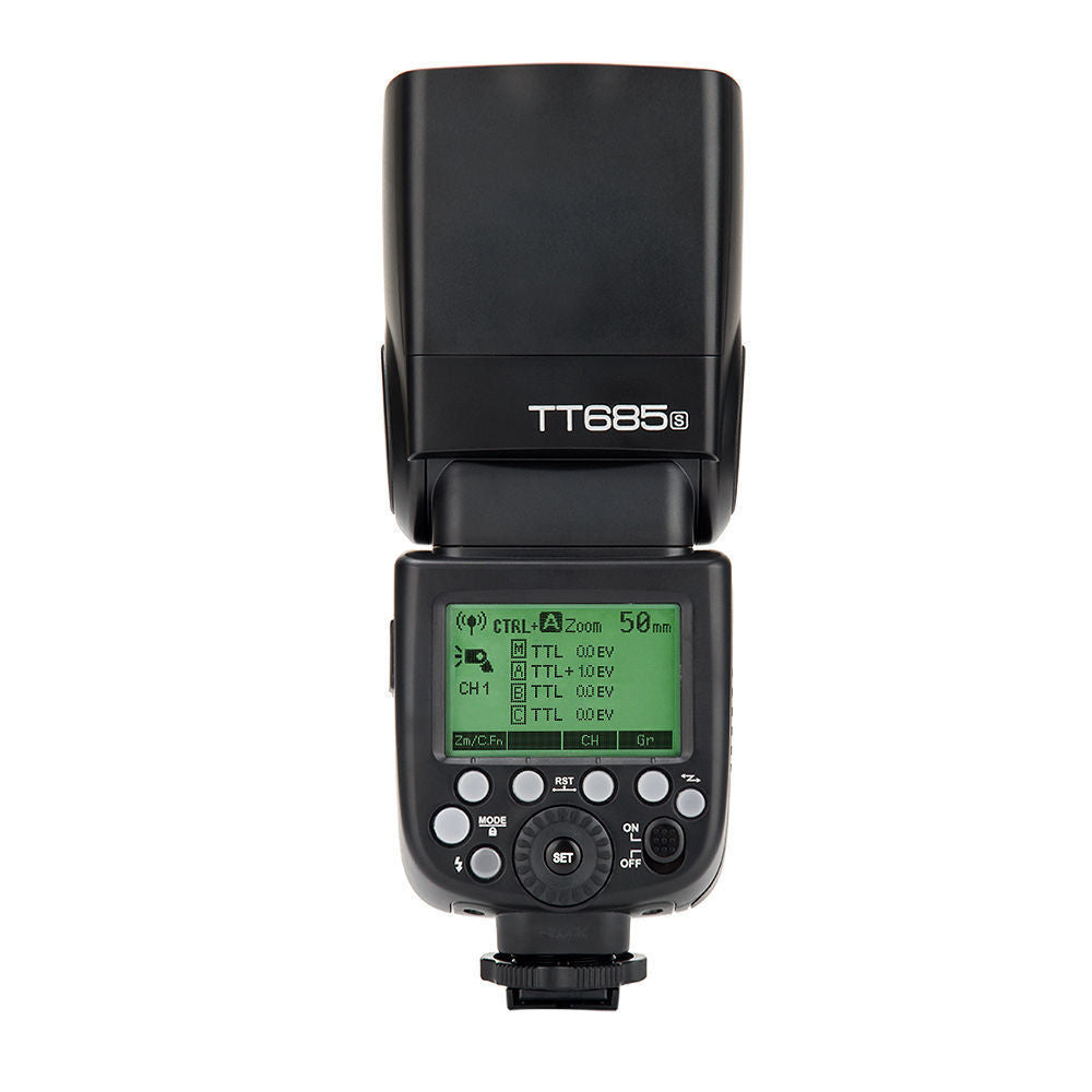 Godox TT685S 2.4G HSS 1/8000 TTL Speedlite Flash For Sony Buit-in 2.4G Wireless GN60