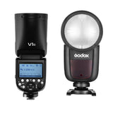 Preorder  -ship on May 14th, Godox V1 TTL On-Camera Round Flash Speedlight For Canon Nikon Sony