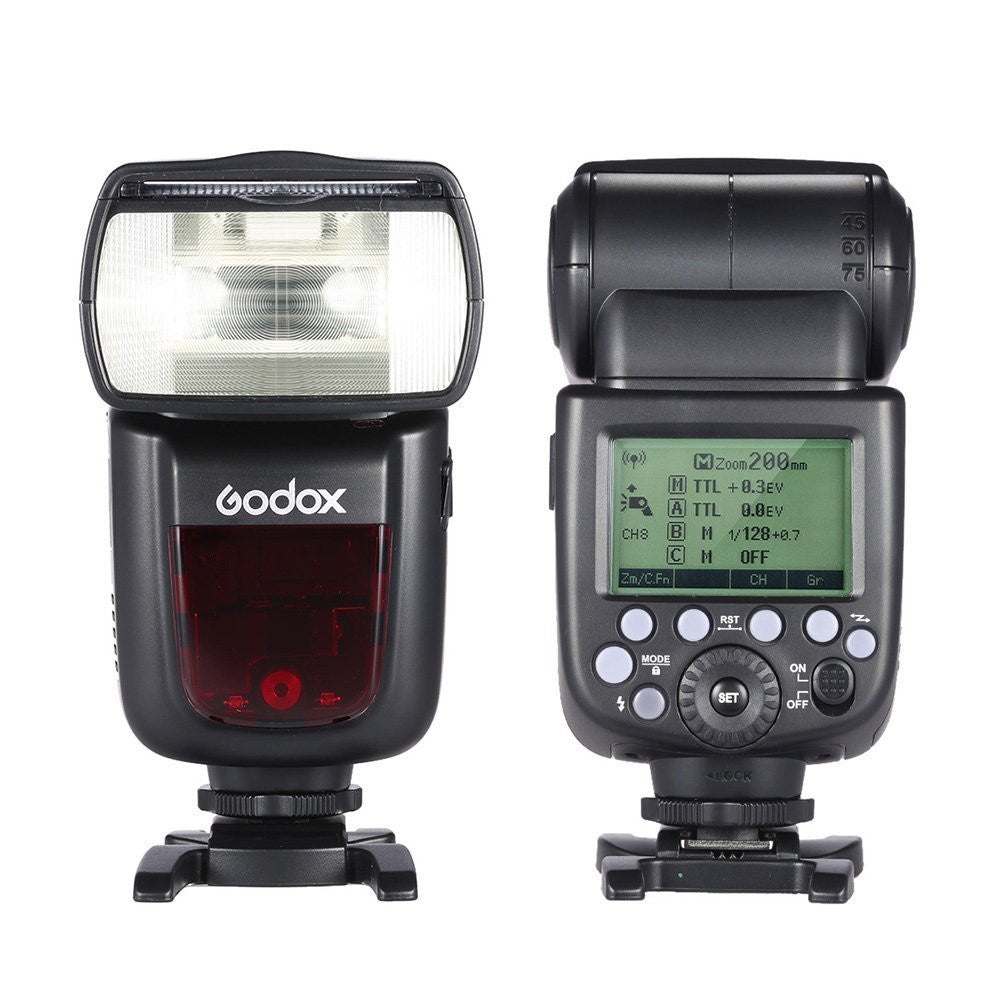 Godox V860II N VING TTL Li-ion Camera Flash Speedlite 2.4G HSS i-TTL Wireless Speedlite Flash For Nikon