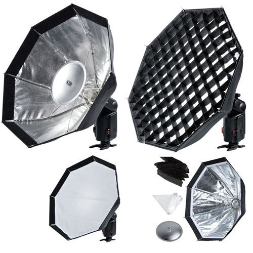Godox AD-S7 Multifunctional Softbox with Grid For Wistro Speedlite Flash AD180 AD360