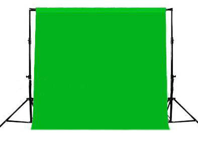 10 X 10' Chromakey Green Muslin Photo Video Backdrop Background