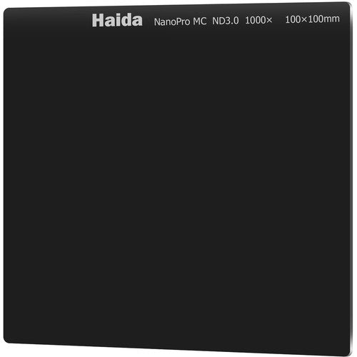 Haida NanoPro ND3.0 (1000x) 10-Stop Multicoated Filter 100x100mm