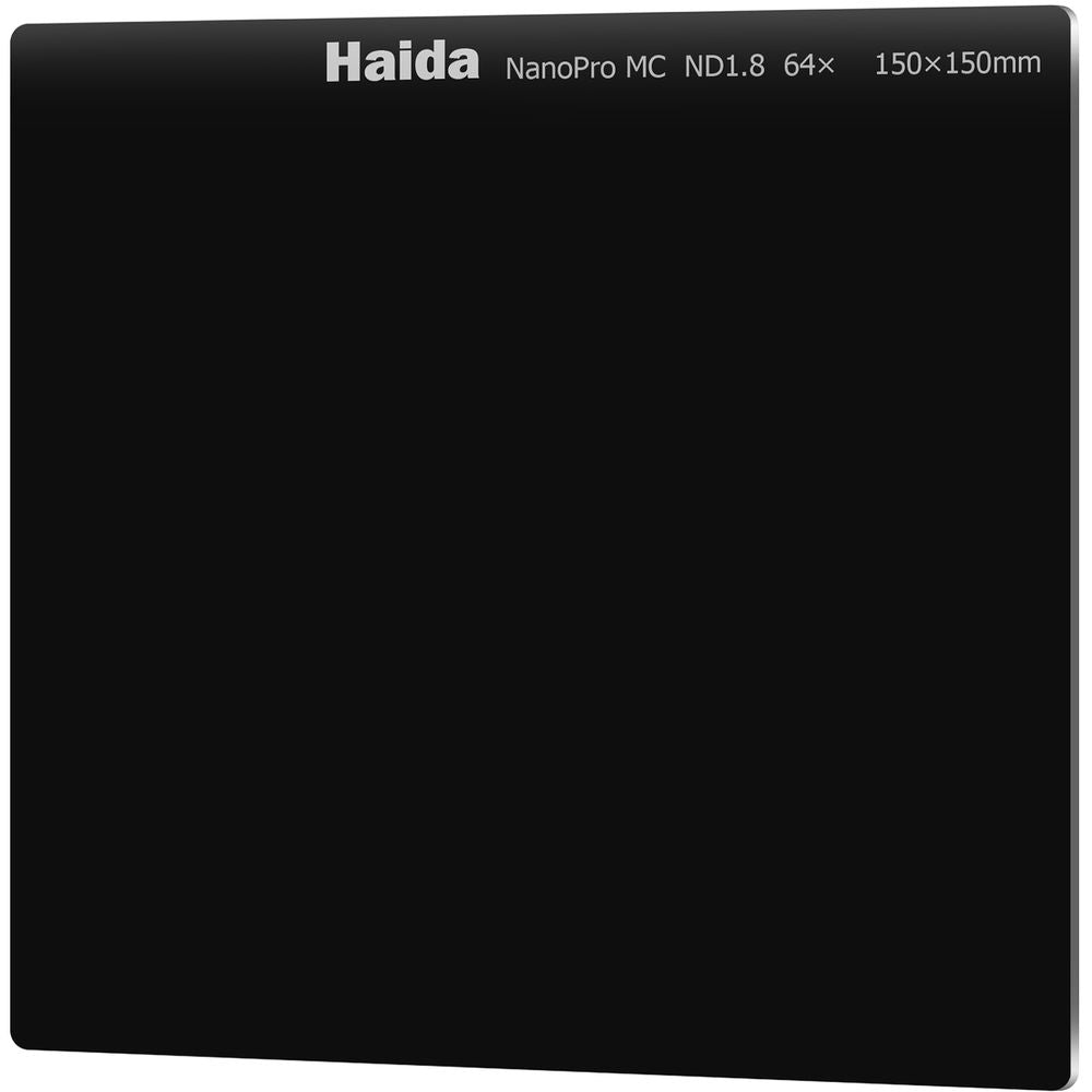 Haida NanoPro ND1.8 (64x) 6-Stop Multicoated Filter 150x150mm