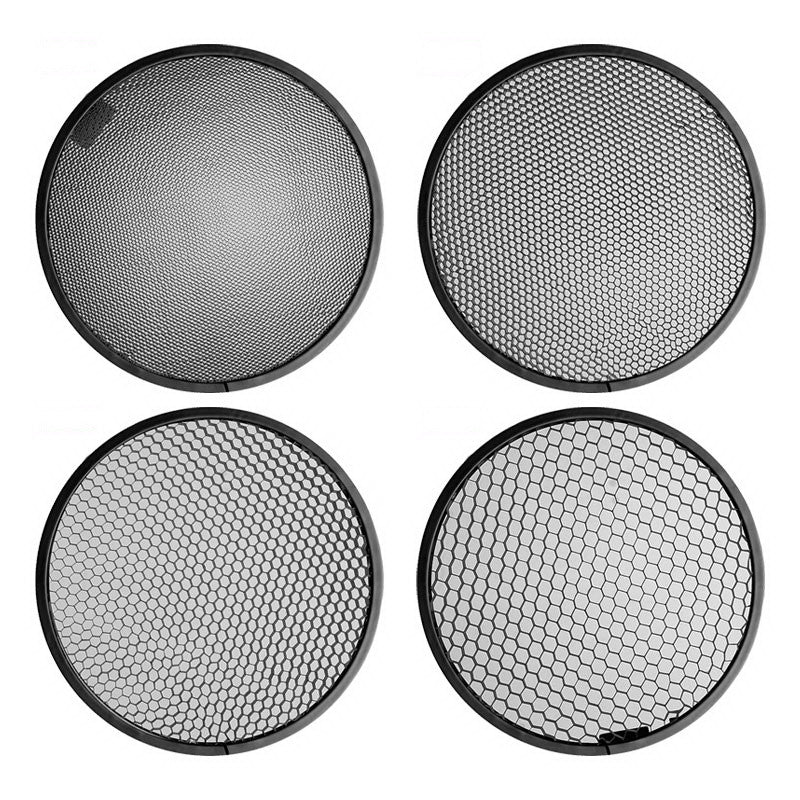 "Set of 4pcs Honeycombs For Standard 7""Reflector"