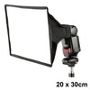 Speedlite / Hot Shoe Flash Softbox 20x30cm