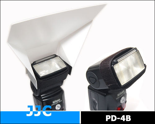 Universal Flash Diffuser Bounce Reflector PD-4B For Canon Nikon Yongnuo Sony Sigma Nissin Metz