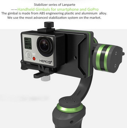 Lanparte Handheld 3-axes Brushless Gimbal for Smartphone and GoPro